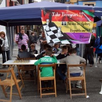 Bonito día de ajedrez republicano, con victorias de los locales Ibai Dorronsoro y Ander Tafall en chicos, y de Judith Goenaga y Haizea Tornay en féminas.