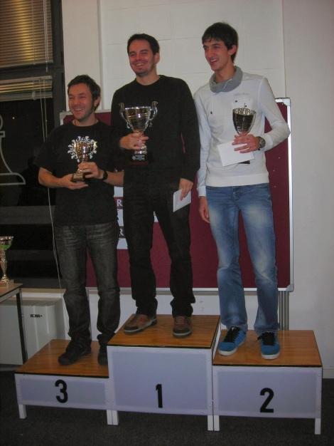 Iñigo Argandoña revalida el título de campeón de Gipuzkoa absoluto