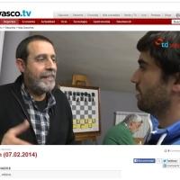 """Enlace en diarovasco.tv para ver """"on line"""" el reportaje emitido en Teledonosti sobre el ajedrez y nuestro club"""
