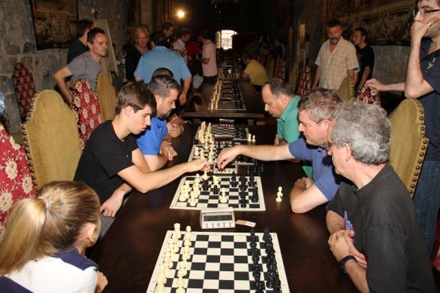 Vista general de la sala de juego en la edición de 2013. Foto: Julián Lazkanotegi