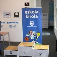 Finales del Campeonato de Gipuzkoa Escolar - individuales y por equipos - el 23 y 24 de abril en Donostia-San Sebastián