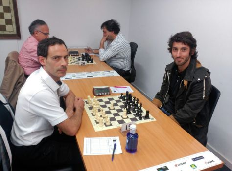 Carlos Pascual Blancas derrotó a Esteban Granero (Gros XT) en la primera ronda de este torneo.