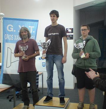 El podio con los ganadores ( foto: Gros TX)