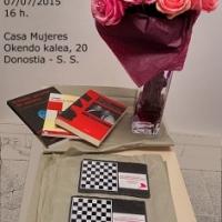 Ier Open Ciudad de Donostia Femenino, animada velada con mucho ajedrez