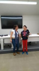 Lander Olano (campeón del torneo Tabakalera)