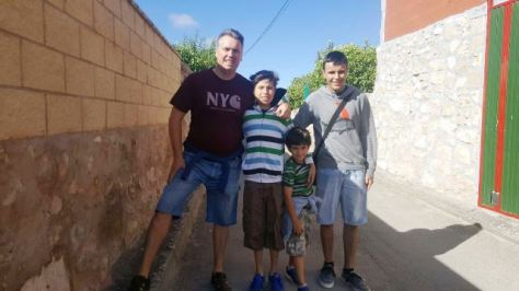 Mikel Tafall, Ander Tafall, Iker Tafall y Patxi Moreno