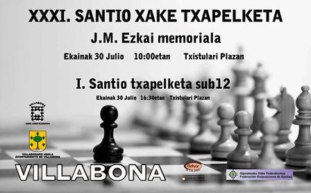 santiago xake 2016
