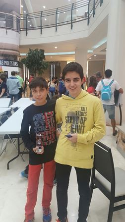 Ander Tafall y Andres Malon