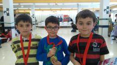 Iker, Gorka y Aimar