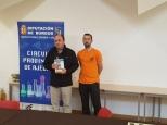 El ganador del torneo GM Alfonso Romero Holmes