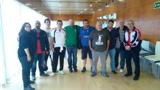 los delegados de los equipos