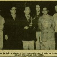 """Érase una vez un Club de Ajedrez llamado """"La Salle de Irun""""... historia de dos fotografías"""