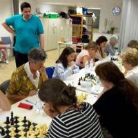 Haizea Tornay Belategi Campeona de Gipuzkoa femenina, en el torneo que ha finalizado hoy, jugado en la Casa de las Mujeres de Donostia