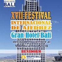 XVII Festival Internacional de Ajedrez Gran Hotel Bali. Andoni Orube y Ramon Nogues en el Sub2000 y meritorio sexto puesto Gipuzkoa Sub16 con Ander Tafall y Patxi Moreno en la XI Copa de España Sub18