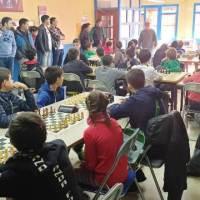 Torneo de ajedrez VI MEMORIAL JOSE BENITO en Errenteria, animado día de ajedrez