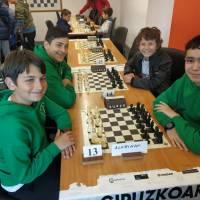 Campeonato Escolar de Gipuzkoa 2019 Infantil y Alevín, Individual y por Equipos. Buena actuación de los nuestros
