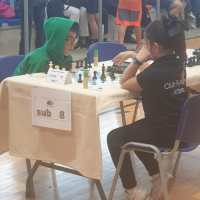 XIVº Torneo de la vendimia de ajedrez infantil 2019, Con muy buena actuación Marlaxkera.