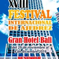XVIII Festival Internacional de Ajedrez Gran Hotel Bali 2019. Meritorio trabajo de todos nuestros equipos en la XII Copa de España Sub18 y Sub 12