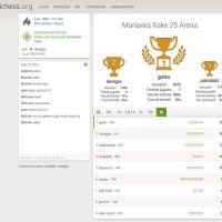 Nuevo torneo en Lichess tras la clase de los miércoles y final de los  torneos temáticos de Ajedrezvasco tras el torneo de ayer. Muchas gracias Gerardo Fernández por todas estas semanas!!!!!